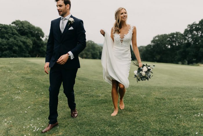 Jo and Adam's Summer Wedding in Devon